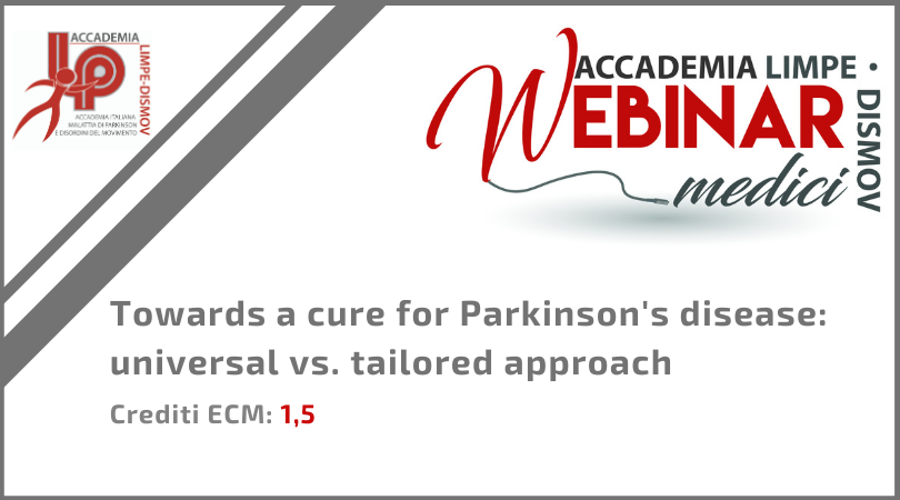 "Course Image FAD Sincrona ""Towards a cure for Parkinson's disease: universal vs. tailored approach"""
