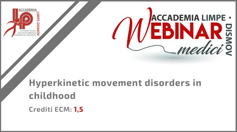"Course Image FAD Sincrona ""Hyperkinetic movement disorders in childhood"""