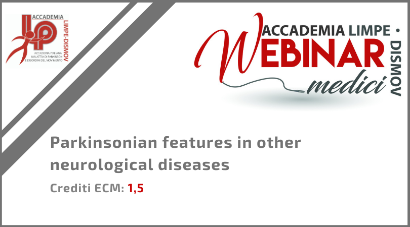 """Course Image FAD Sincrona """"Parkinsonian features in other neurological diseases"""""""