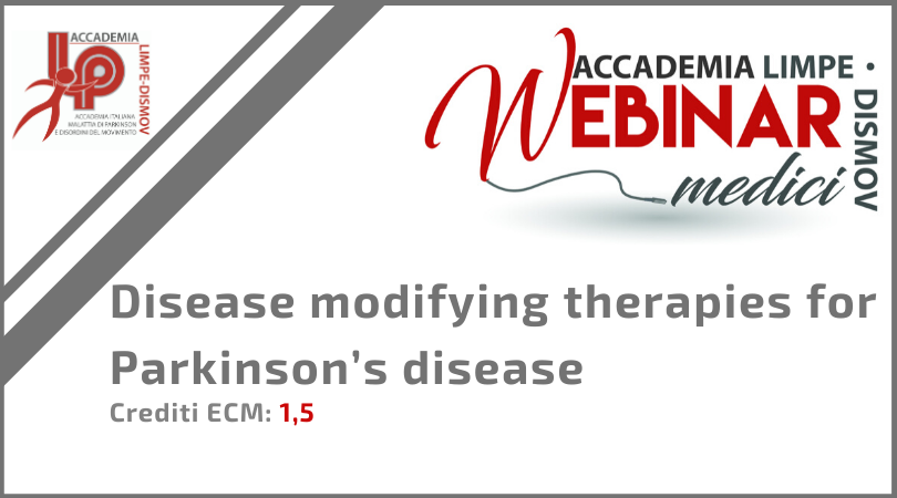 "Course Image FAD Sincrona ""Disease modifying therapies for Parkinson's disease"""